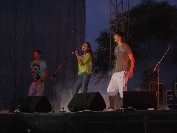 Kick Down-концерт на набережной